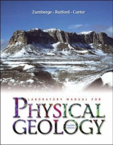9780072826890: Laboratory Manual for Physical Geology