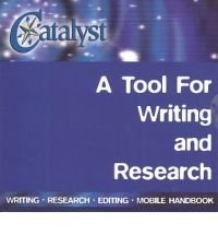 9780072827095: Catalyst: A Tool for Writing and Research