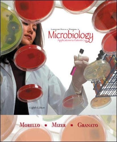 9780072827187: Laboratory Manual and Workbook in Microbiology