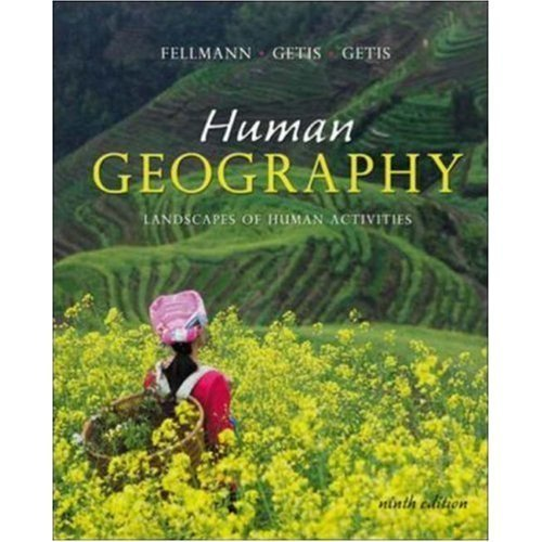 9780072827651: Human Geography: Landscapes of Human Activities