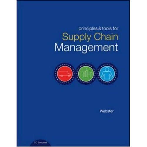 9780072827910: Principles and Tools for Supply Chain Management