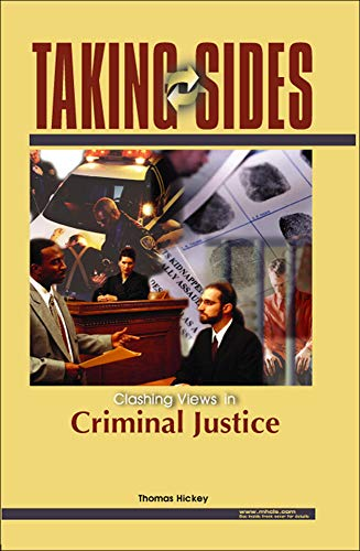 9780072828177: Taking Sides: Clashing Views on Controversial Issues in Criminal Justice