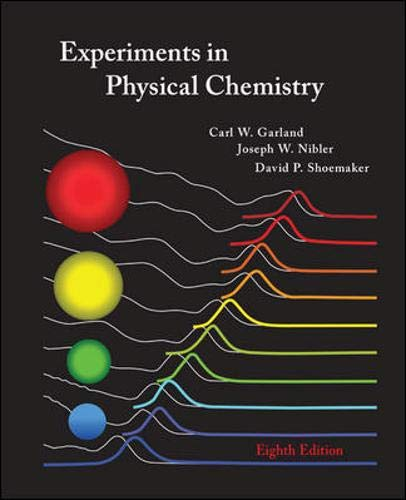 9780072828429: Experiments in Physical Chemistry