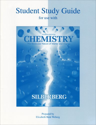 9780072828443: Student Study Guide to accompany Chemistry