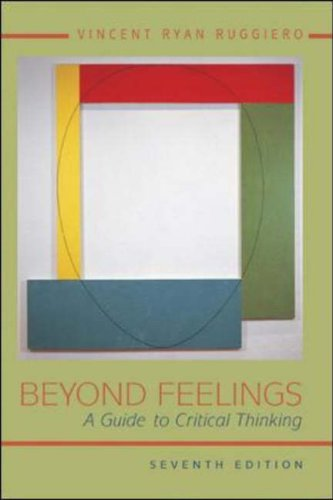 9780072828962: Beyond Feelings: A Guide to Critical Thinking