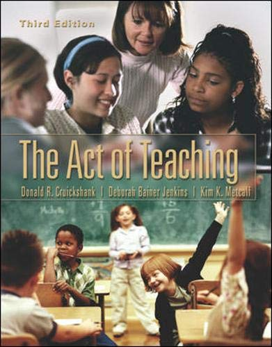 9780072829457: The Act of Teaching with  PowerWeb: Education