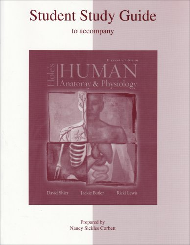 9780072829563: Student Study Guide to accompany Hole's Human Anatomy and Physiology