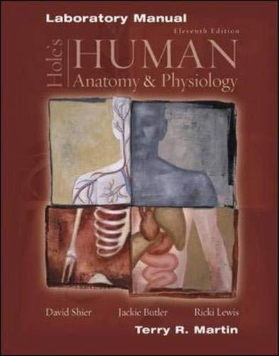 9780072829570: Laboratory Manual to accompany Hole's Human Anatomy and Physiology