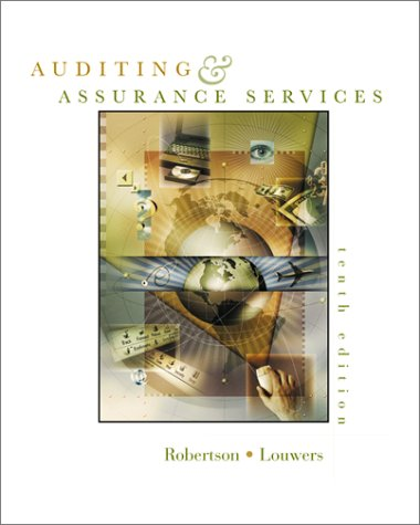 MP Auditing and Assurance Services w/ Apollo Shoes Casebook and PowerWeb: Enron: Robertson, Jack C....