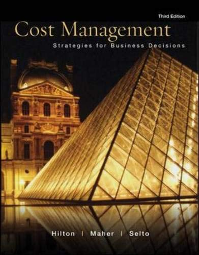 9780072830088: Cost Management: Strategies for Business Decisions