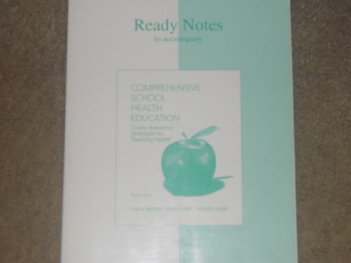 9780072830309: Ready Notes t/a Comprehensive School Health Education