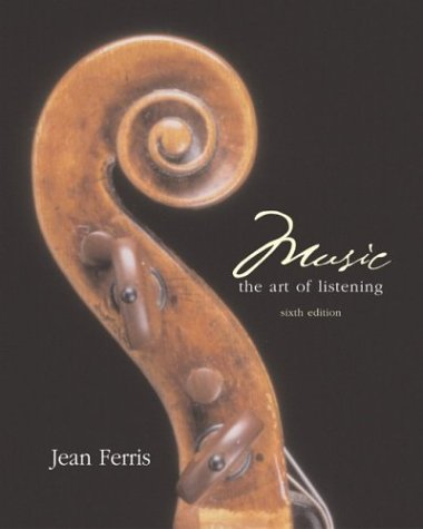 9780072830460: Music: The Art of Listening with CD-ROM