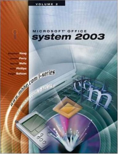 9780072830514: The I-Series Microsoft Office 2003 Volume 2
