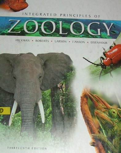 9780072830569: Integrated Principles Of Zoology