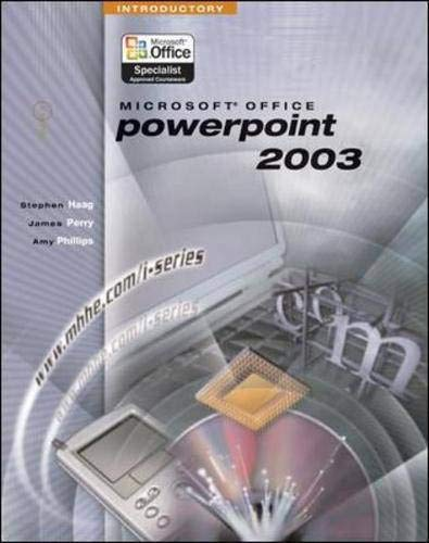 9780072830699: I-Series: Microsoft Office PowerPoint 2003 Introductory