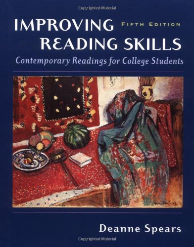 9780072830705: Improving Reading Skills: Contemporary Readings for College Students