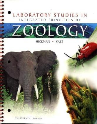 Laboratory Studies in Integrated Principles of Zoology: Jr., Cleveland P