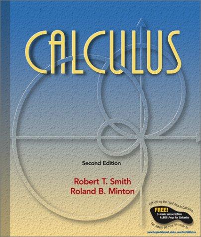 Calculus (update): Robert T Smith,