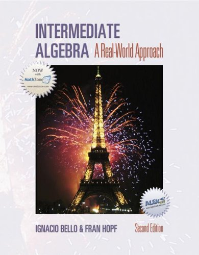 9780072831061: Intermediate Algebra