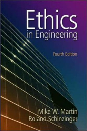 9780072831153: Ethics in Engineering