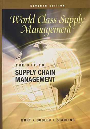 9780072831566: World Class Supply Management: The Key to Supply Chain Management with Student CD - ROM