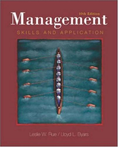 9780072832549: Management: Skills and Application  with PowerWeb