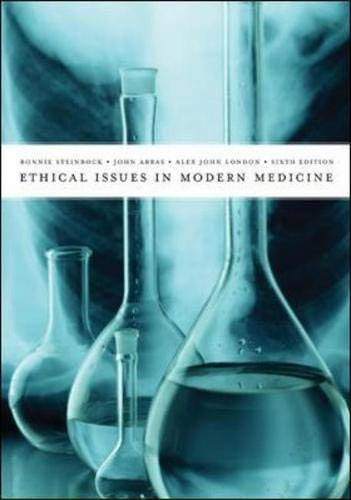9780072833492: Ethical Issues In Modern Medicine with Free Ethics PowerWeb