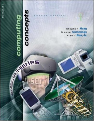 9780072834116: The I-Series Computing Concepts Complete Edition