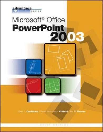 9780072834376: Advantage Series: Microsoft Office PowerPoint 2003, Brief Edition