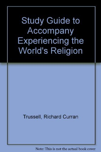 9780072835090: Study Guide to accompany Experiencing the World's Religion