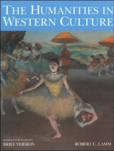9780072835984: Humanities in Western Culture, Brief Revised Fourth Edition