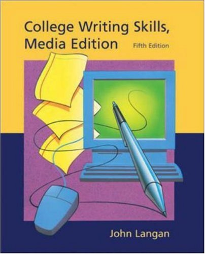 9780072836509: College Writing Skills, media edition, with Student CD-ROM and User's Guide