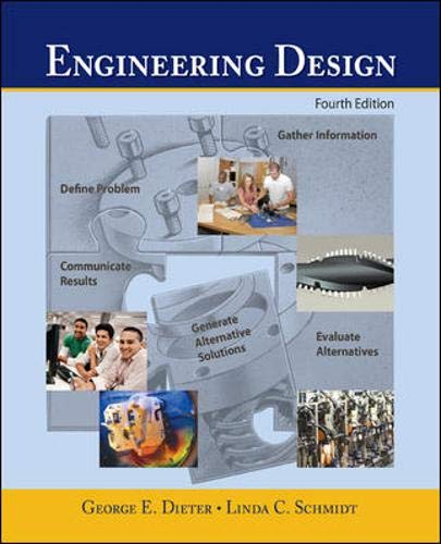 9780072837032: Engineering Design: A Materials and Processing Approach (Engineering Series)