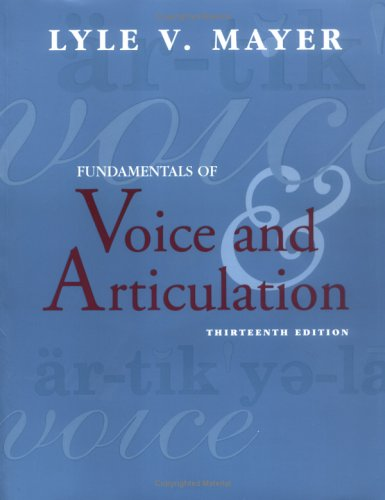 9780072837308: Fundamentals of Voice and Articulation (NAI)