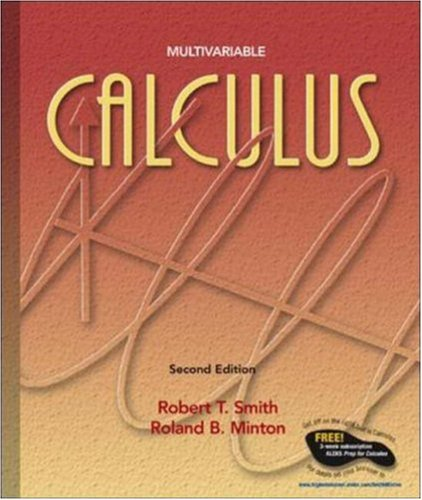 Multivariable Calculus, Second Edition: Robert T Smith,