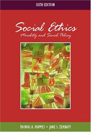 9780072837490: Social Ethics: Morality and Social Policy with Free Ethics PowerWeb