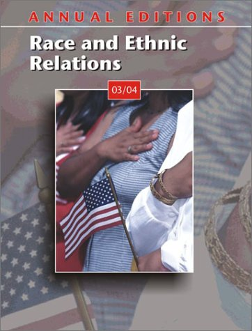 9780072838138: Annual Editions: Race and Ethnic Relations 03/04