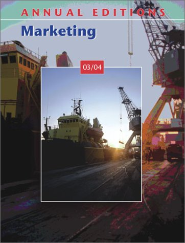 9780072838213: Annual Editions: Marketing 03/04