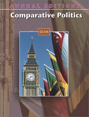 9780072838237: Annual Editions: Comparative Politics 03/04