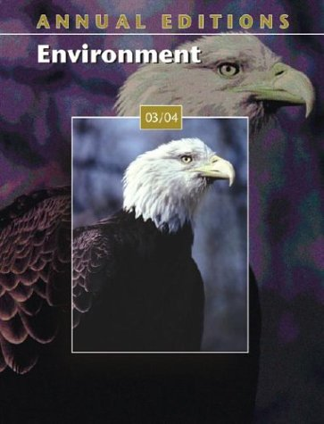 9780072838510: Annual Editions: Environment 03/04