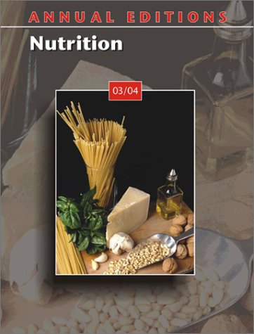 9780072838596: Annual Editions: Nutrition 03/04