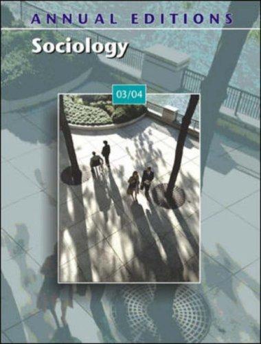 9780072838671: Annual Editions: Sociology