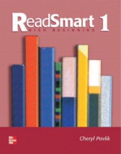 9780072838916: ReadSmart 1: High Beginning (Bk. 1)