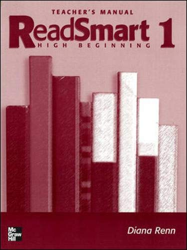 9780072838923: READ SMART 1 TEACHER'S MANUAL