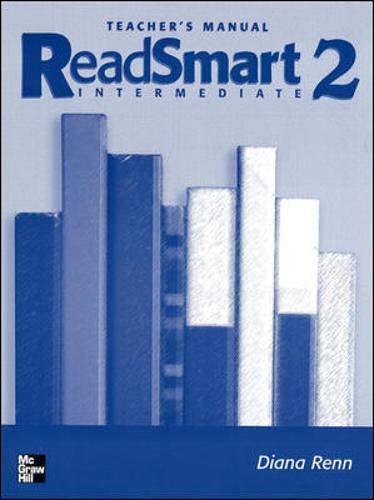 9780072838954: Read Smart Level 2 Teacher's Manual (Bk. 2)