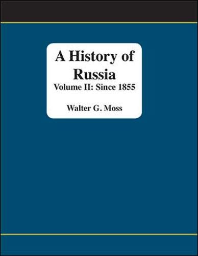 9780072839142: A History of Russia: Since 1855, Volume II