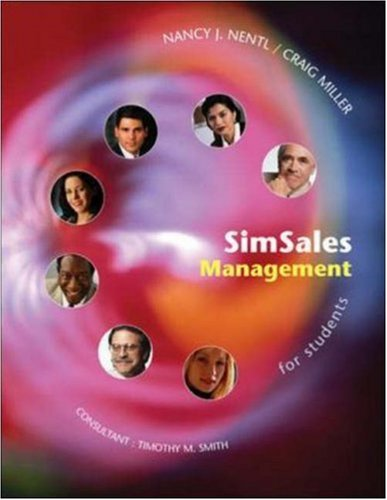 9780072839364: Simsales Management: Student Manual