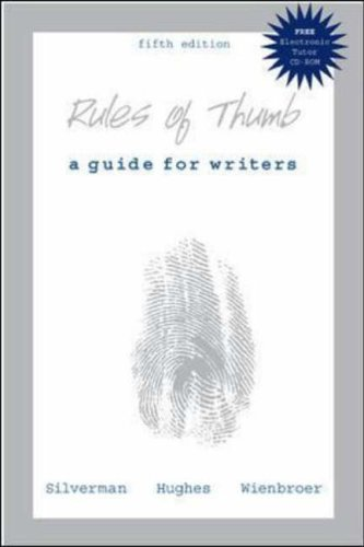 9780072839951: Rules of Thumb: With 2002 Apa Update and Electronic Tutor CD-Rom