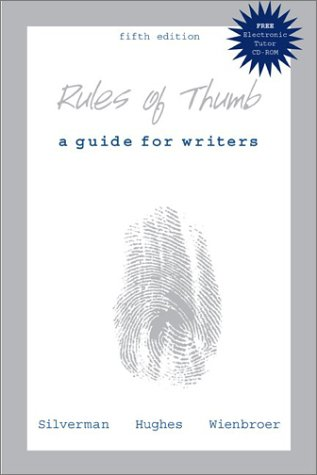 9780072839951: Rules of Thumb: A Guide for Writers, 5th Edition