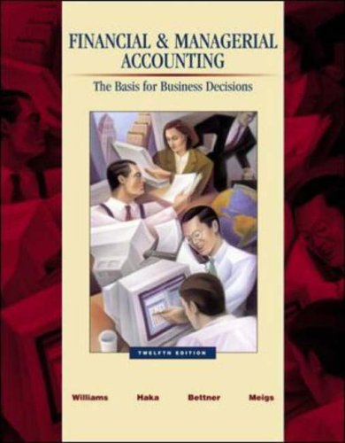 9780072839968: Financial & Managerial Accounting: A Basis for Business Decisions with Revised Student CD-ROM , NetTutor & PowerWeb Package: With Revised Student CD-ROM, NetTutor and PowerWeb Package